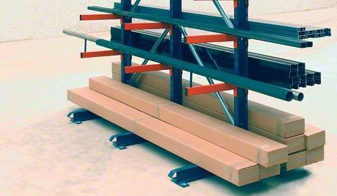 Консольные стеллажи для легких грузов