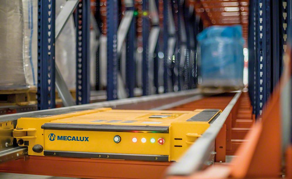 Система для палетного хранения Pallet Shuttle