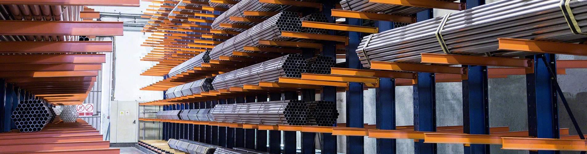 Консольные стеллажи для средних и тяжелых грузов