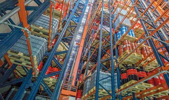 Автоматизированные склады для палетного хранения