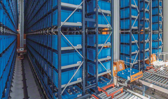 Автоматизированные склады для коробочного хранения Mini-Load