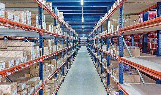 Полочные стеллажи для средних и тяжелых грузов M7